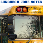 school RULES! super-silly lunchbox joke notes