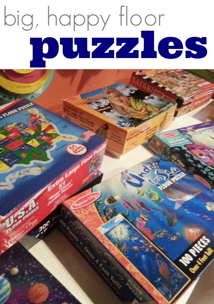 tabletop surprises day floor puzzles