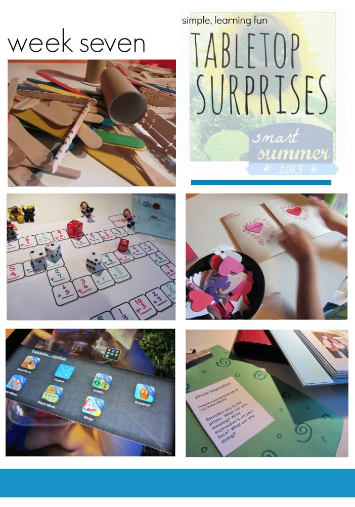 tabletop surprises week seven
