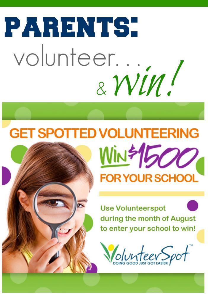 volunteerspot get spotted volunteering