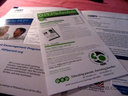 pep | parent encouragement program