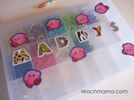 rainbow loom maddy's box