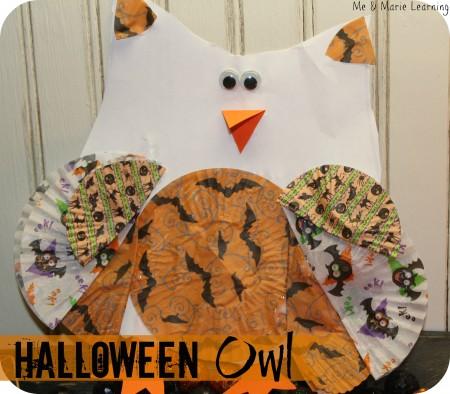 Halloween Owl 1
