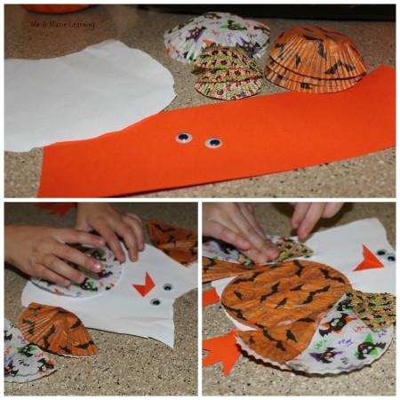 halloween owl: fun fall craft for kids