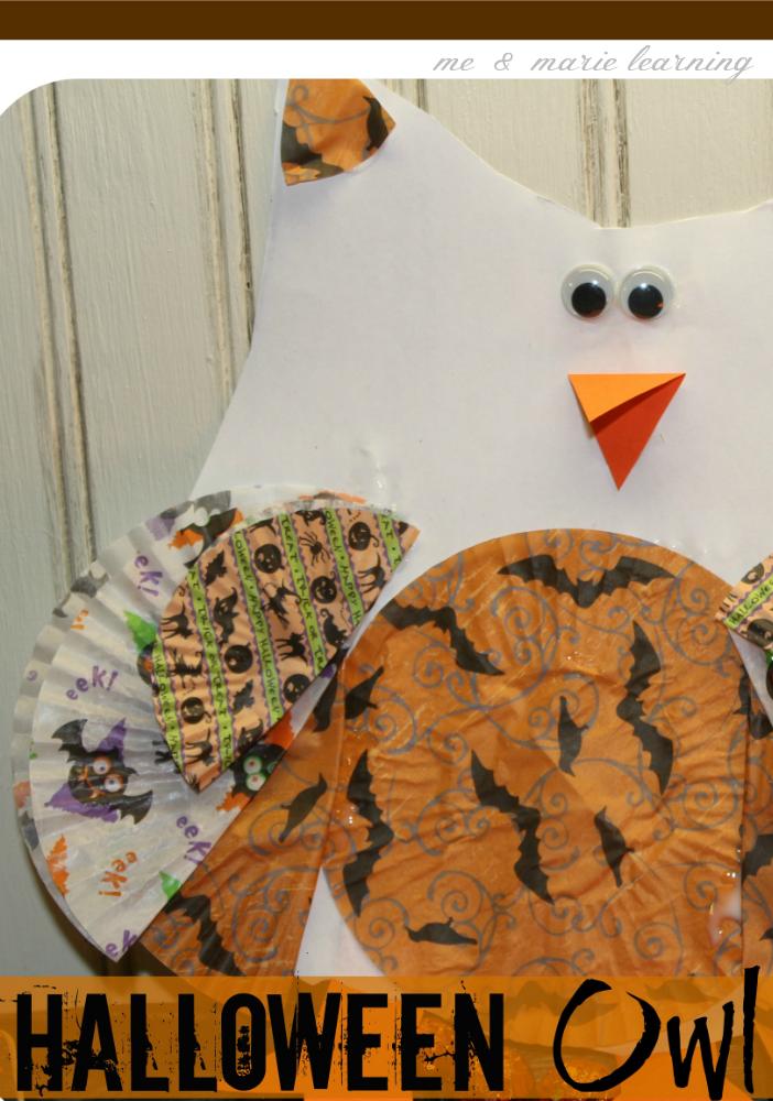 halloween owl fun fall craft for kids
