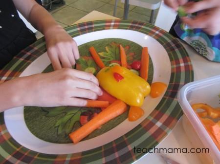 vegetable turkey