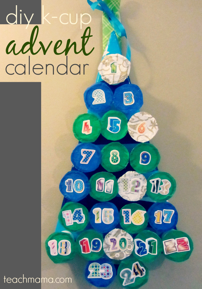 K cup advent calendar make it a thoughtful thankful holiday kcup advent calendar solutioingenieria