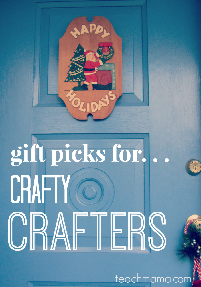 teachmama gift guide crafty crafters