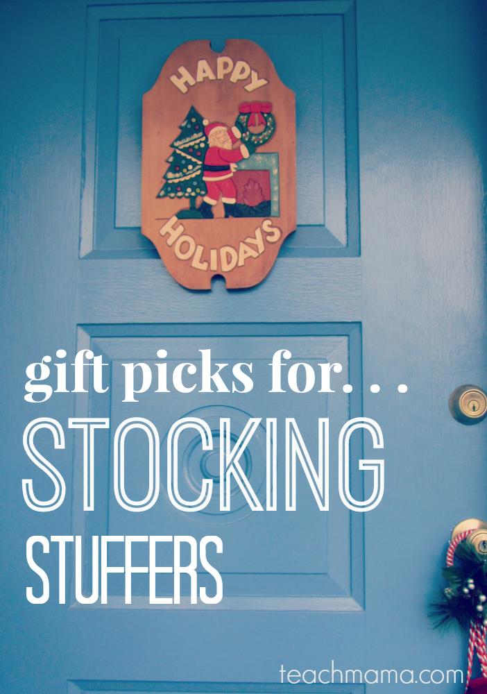 teachmama stocking stuffer
