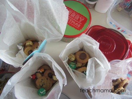 holiday baking day cookies