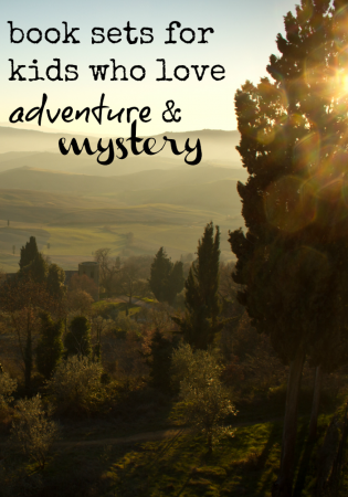 book sets for kids who love adventure and mystery