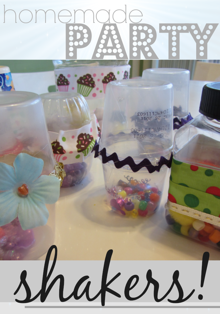 homemade party shakers