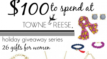 holiday giveaway: 26 fabulous gifts for women (stuff I totally love)