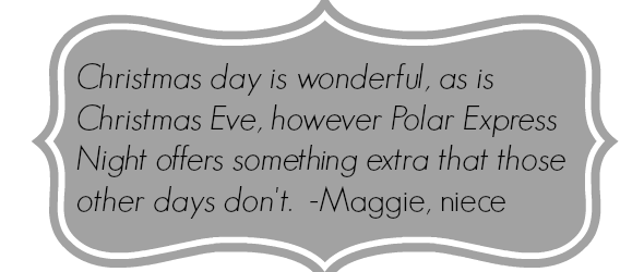 polar express quote