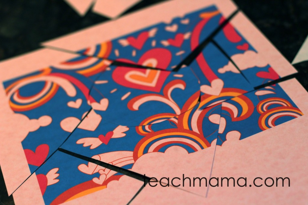 valentines day class party | puzzle race | teachmama.com