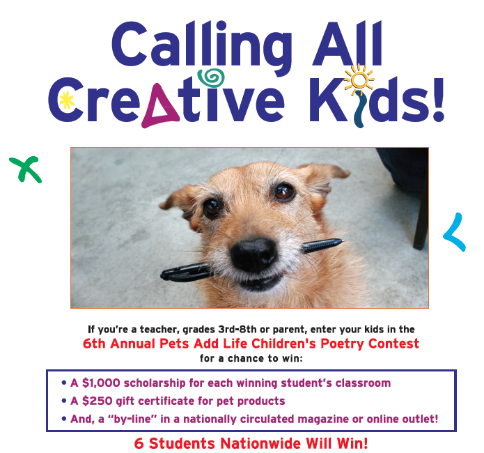 pal pet poetry contest