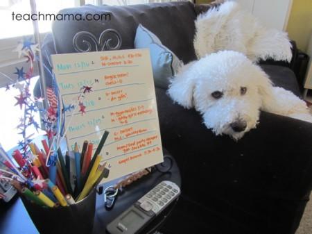5 ways to keep family sane during home reno   stick to routine   teachmama.com