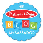 melissa doug blog ambassador button