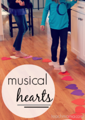 musical hearts: reading, moving, & crazy-fun kid game