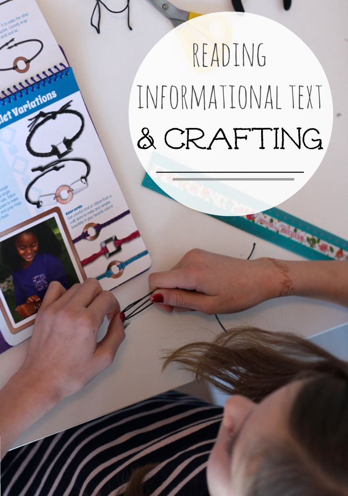 reading informational text and crafting | teachmama.com