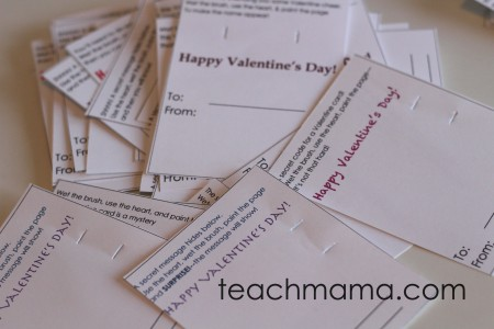secret message valentines | teachmama.com