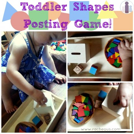 toddler shapes: learn and play  posting game