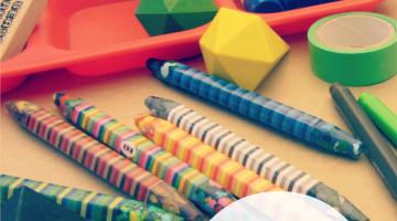 raising creative kids: target 'kid made modern' $150 giveaway