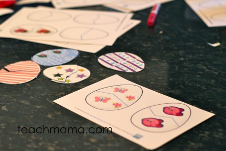 easter egg pattern match | teachmama