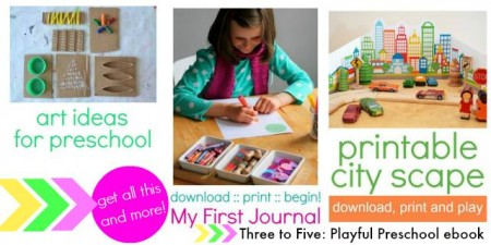playful preschool activities ebook