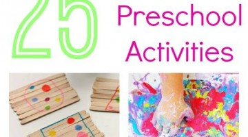 25+ playful preschool activities eBook