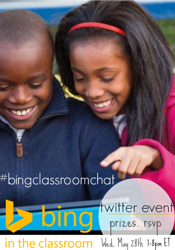 bing in the classroom twitter event cover teachmama