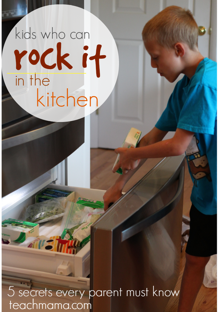 kids who can rock it in the kitchen | teachmama.com cover
