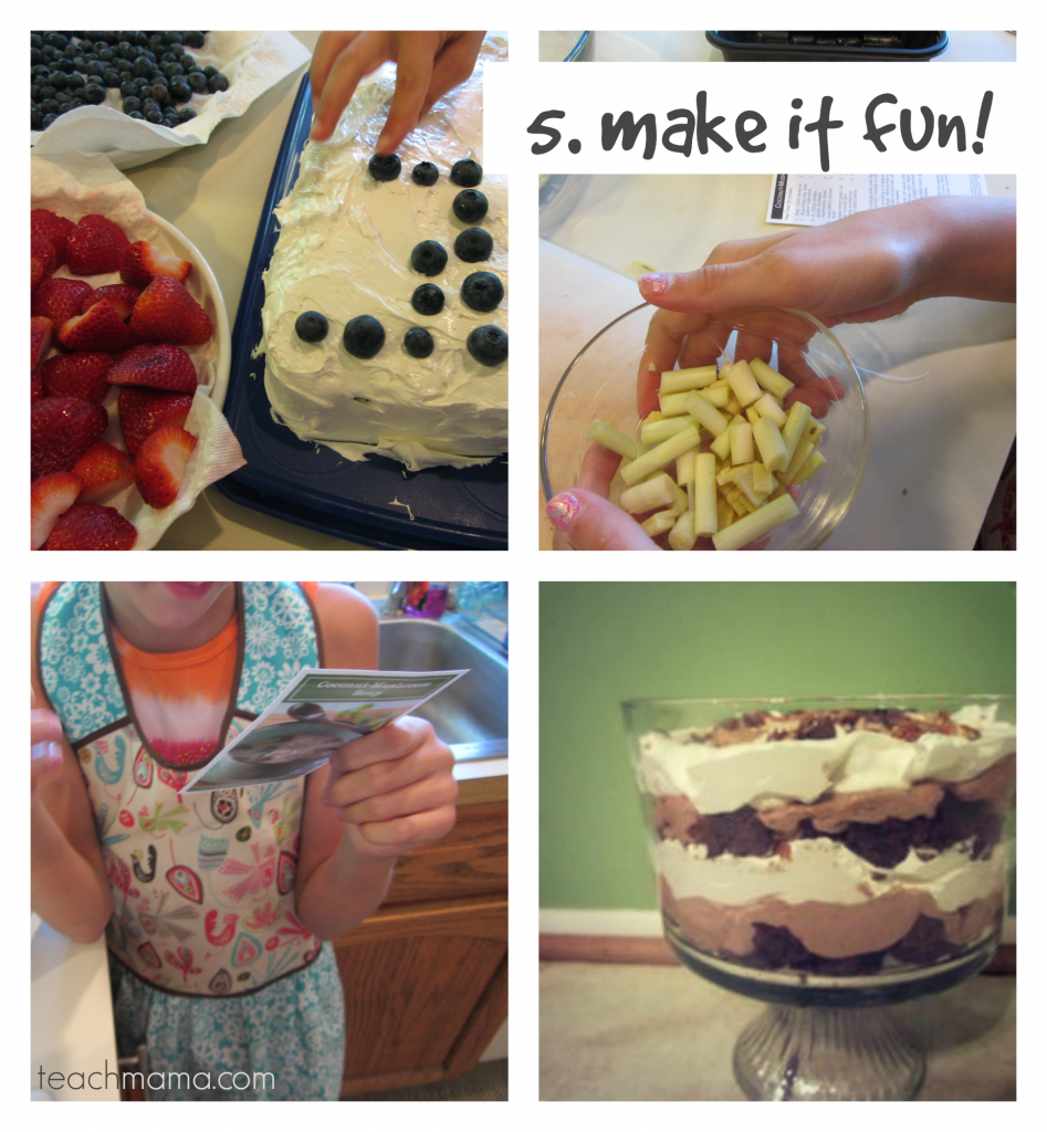 raising kids who can rock it in the kitchen helper FUN | teachmama.com