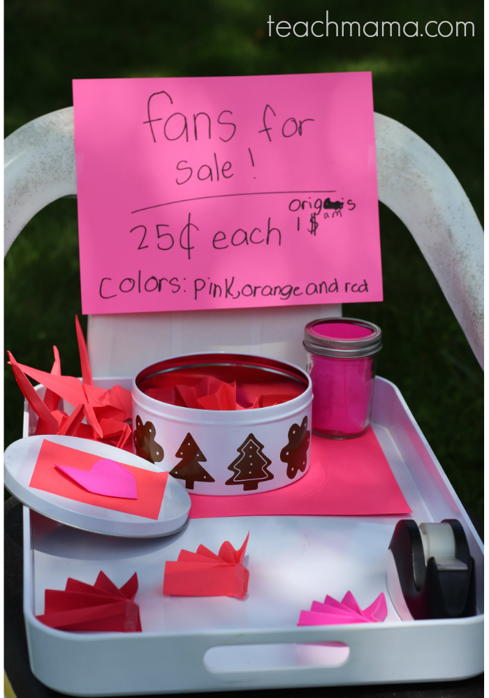 kid craft sale: supporting young entrepreneurs