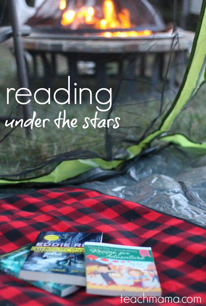 reading under the stars | teachmama.com