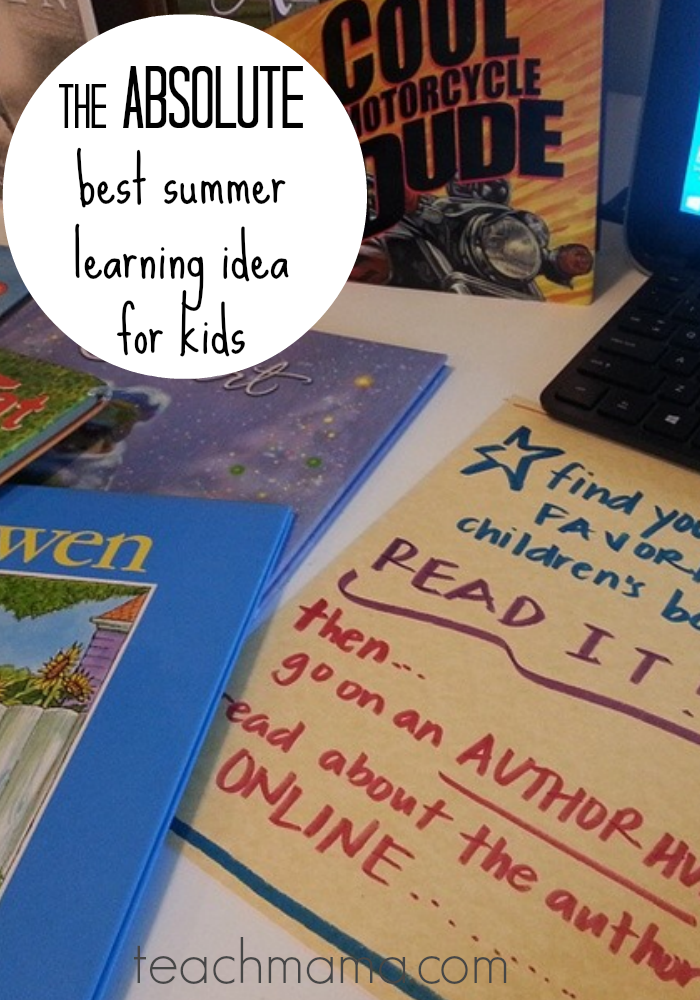 the best summer learning idea for kids teachmama.com