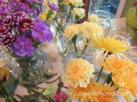 happy first day flowers for teachers, secretaries, or principal | teachmama.com