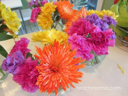 happy first day flowers for teachers, secretaries, or principal | teachmama.com