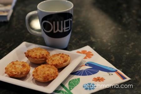 quick, kid-friendly after school snack: Bagel Bites | teachmama.com