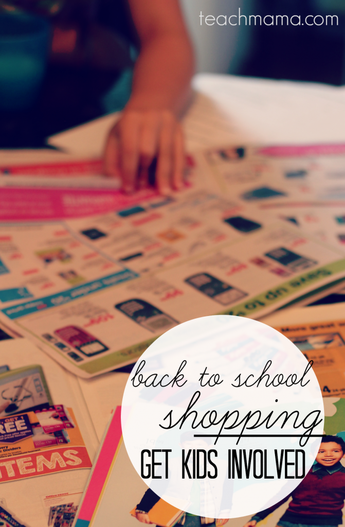 back to school shopping  get kids involved  teachmama.com