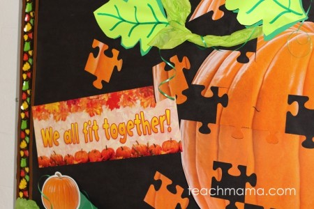 fall classroom decor: quick and easy for teachers and parents