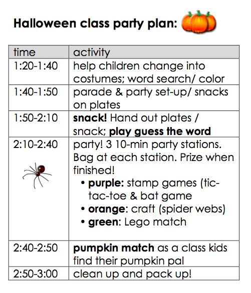 halloween party ideas for kids letter -  teachmama.com