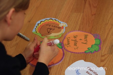 thankful door: reminding our kids to be grateful every day | teachmama.com