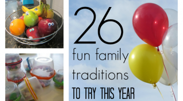 26 cool, new family traditions to start in the new year