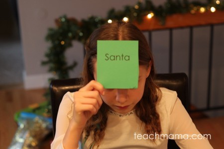 christmas guess the word game | teachmama.com