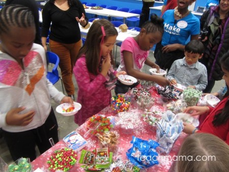 enjoy the holiday: gingerbread houses & giving back