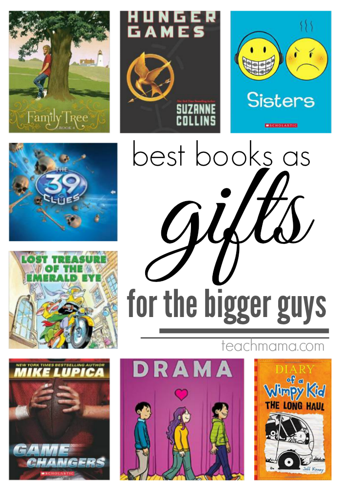 best books as gifts for family  teachmama.com bigger guys