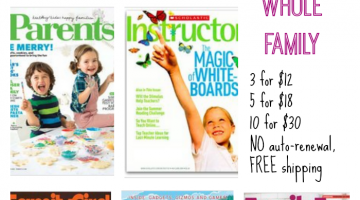 must-have magazine deal for families #cybermonday