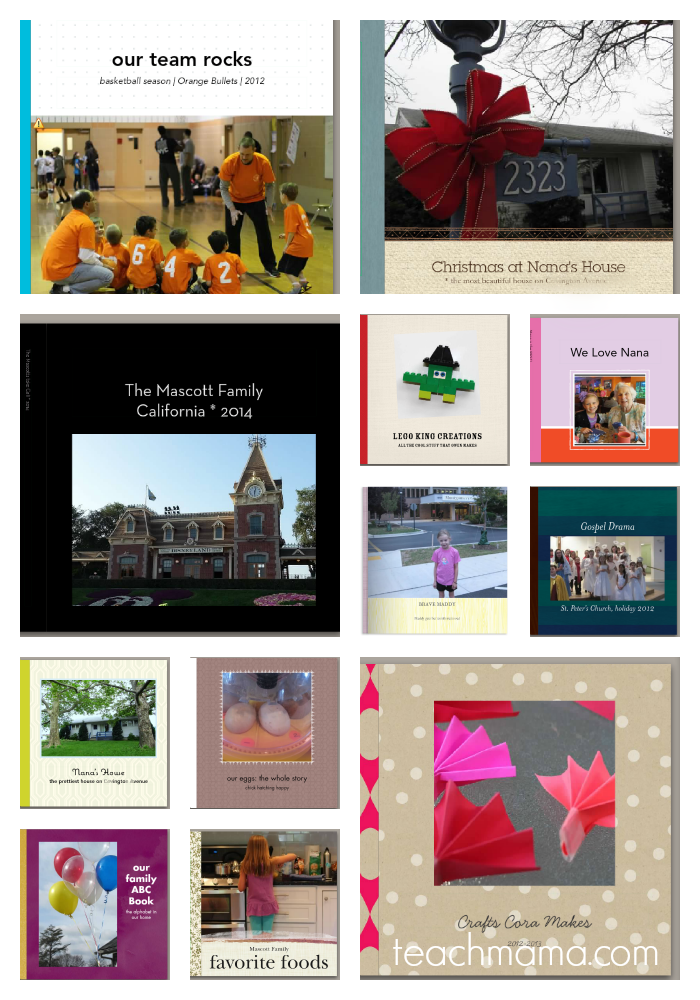 the coolest, most creative photo books for kids and family  teachmama.com BLANK