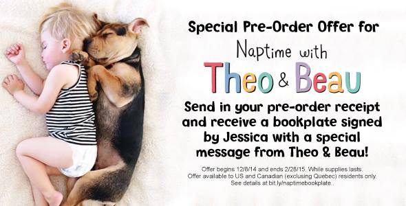 naptime with theo & beau: pre-order special families will LOVE